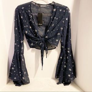 """Nasty Gal """" Star of the Show """" NWT SZ 4"""
